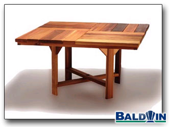 54 inch Square Table