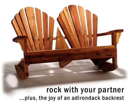 Baldwin Loveseat Rocker